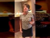 Manager hotelu zwymyślała i zaatakowała klienta.