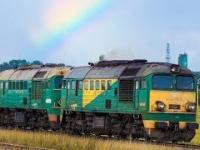 Piękno polskiej kolei z lotu ptaka na niezelektryfikowanych liniach kolejowych
