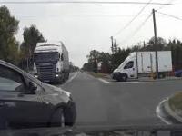 Karna siarczysta wiązanka dla nierozgarniętego kierowcy