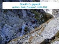Orla Perć - gzymsik (zejście z Koziej Przełęczy)