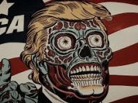 Wyśmiewanie się z propagandy Trumpa