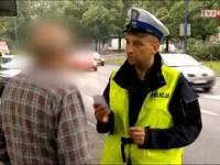 Typowy Janusz zatrzymany przez policję