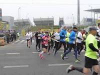VI Półmaraton Bydgoski, pierwsze metry po starcie
