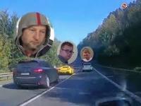 Słowacja-drogowi piraci z Polski - Wypadek na Słowacji bez tajemnic