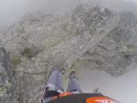 Przechodził po grani w Tatrach i...