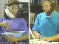 Zestaw słuchawkowy w 1993 roku