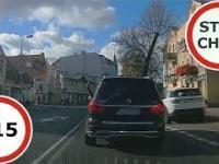 Stop Cham 215 - Niebezpieczne i chamskie sytuacje na drogach