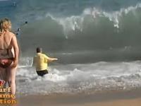 Nigdy nie odwraca się plecami do morskich fal, nie masz szans