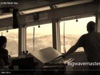 Jak to jest na pokładzie statku na Morzu Północnym