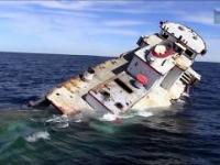 Jak naprawdę wygląda zatonięcie statku? Oto przykłady