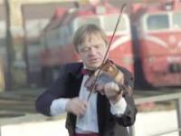 Litewskie lokomotywy wykonują polski hymn z okazji 100-lecia niepodległości