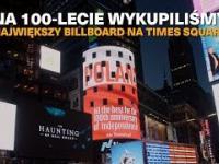 Wykupili największy billboard na Times Square