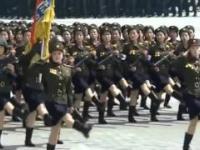 Kiedy dołożysz muzykę Bee Gees do północnokoreańskich marszów