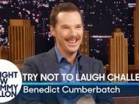 Spróbuj się nie zaśmiać z Benedictem Cumberbatchem