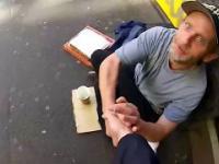 Dobrzy Motocykliści pomagają bezdomnym