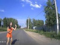 Dziewczyna w Rosji miała szczęście