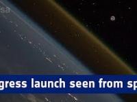 Start Progresu widziany z ISS