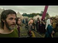 Król wyjęty spod prawa, scena z katapultą
