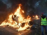 Manifestacje pożary i rozboje w Paryżu - 1 grudnia 2018