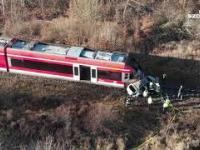 Śmiertelny wypadek na niestrzeżonym przejeździe kolejowym.