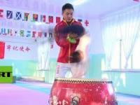 Tak gimnastykę ćwiczą małe chińskie dzieci