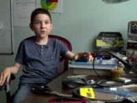 Wybitnie uzdolniony ośmiolatek studentem Politechniki