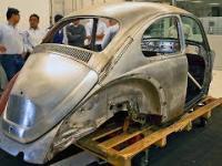 Volkswagen Beetle z 1967 roku - odnowienie.