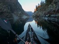 Pływanie kajakiem w Norwegii