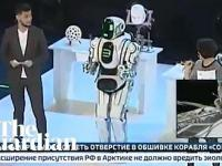 Rosyjski superrobot zachowuje się jak człowiek