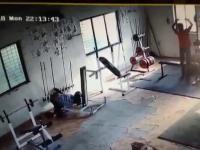 Koksu na siłowni
