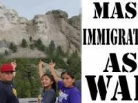 Masowa imigracja jako działania wojenne (angielski)