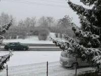 Pierwszy śnieg w Bydgoszczy 20.12.2018