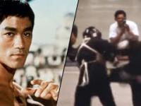 Jedyna uchwycona w kolorze walka Bruce'a Lee