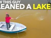 Absolwent japonskiego uniwersytetu oczyszcza jezioro za pomoca nano technologii