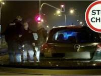 Pijany kierowca, nieustępliwość, zatrzymanie przez policję i kolizja 183 Wasze Filmy