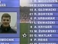 Jak 21 lat temu wyglądała prezentacja piłkarzy w polskiej lidze