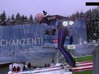 Dawid Kubacki bije rekord skoczni w Bischofshofen