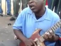 Zespół muzyczny z Zimbabwe