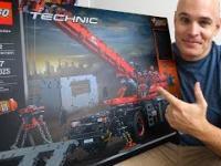 Budowa największego zestawu Lego Technics