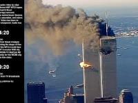 Bardzo dobre ujęcia z helikoptera na WTC w momencie zamachu