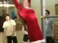 Pani Mikołajowa już wróciła do formy po świętach