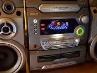 Wieża stereo z końca lat dziewięćdziesiątych
