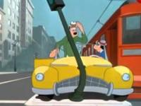 Kaczor Donald - szaleństwo motoryzacji