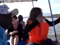 To miała być spokojna wycieczka na wodzie