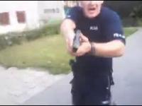 Starcie pyskatych Sebixów z policjantami