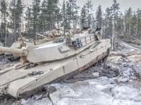 Szkolenie amerykańskich czołgistów w Norwegii