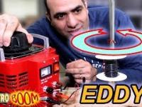 Nasz ulubiony elektryk pokazuje działanie prądów wirowych