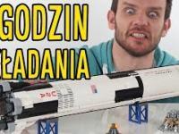 7 godzin składania modelu rakiety