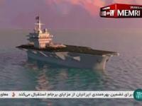 Irański okręt podwodny zatapia amerykański lotniskowiec