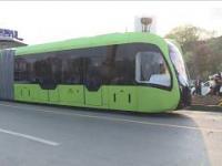 W Chinach testują tramwaj bez torów